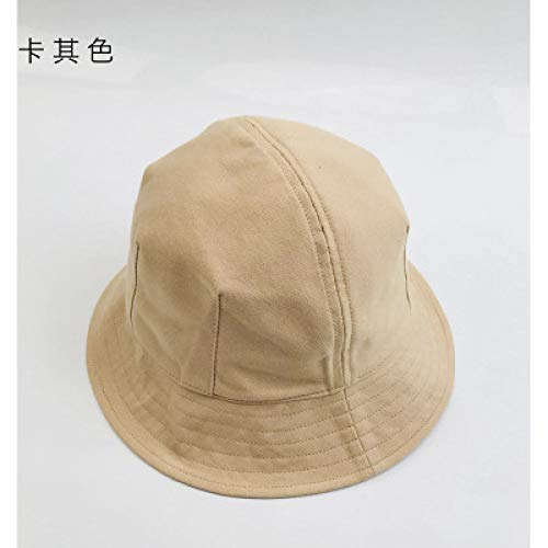sdssup Sonnenschutz Sonnenschutz Fischerhut Hut für Männer und Frauen dzp Khaki S (54-56cm)