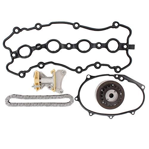 NewYall Pack of 5 Camshaft adjuster Chain Tensioner Gasket Repair Kit