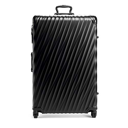 TUMI - 19 Degree Worldwide Trip Packing Case Large Suitcase - Hardside Luggage for Men and Women - Matte Black