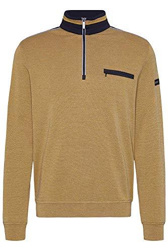 Bugatti Herren 8550-55141 Sweatshirt, Orange (Orange 670), (Herstellergröße: XX-Large)