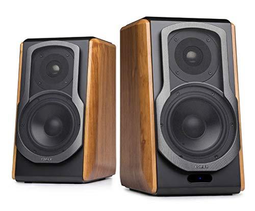 Edifier S1000DB Brown Active Audiophile Bookshelf Studio Speakers with...