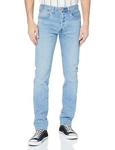 Levi's 501 Slim Taper Jeans, Coneflower Clouds, 34 30 para Hombre