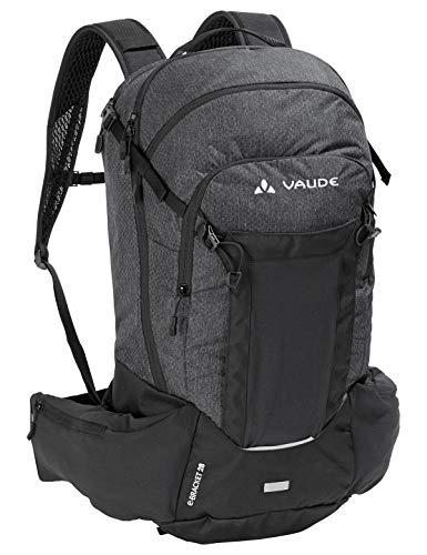 VAUDE Rucksäcke20-29l eBracket 28, Hochfunktioneller All Mountain-Rucksack für den Einsatz auf dem eBike, black, one Size, 129460100