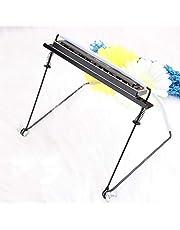 OIBTECH - Soporte para armónica, de 4, 10, 24 orificios, soporte para cuello manos libres, armónica no incluida