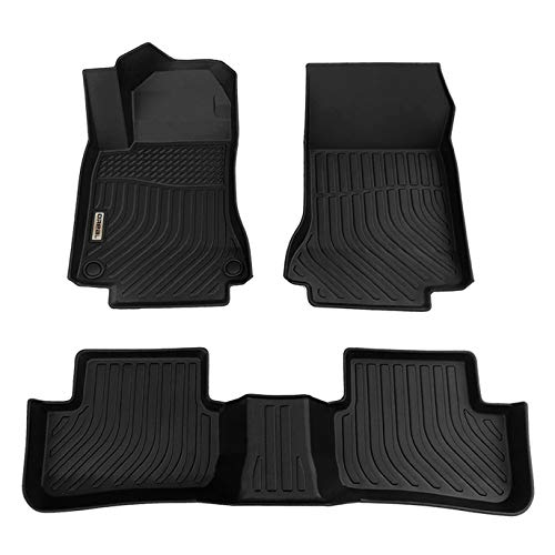 orealtrend Car Mats Replacement for Floor Liners Mercedes Benz GLA 2015-2020 Heavy Duty All Weather Guard Black Front and Rear Car Carpet-Custom Fit-Tough/Durable/Odorless