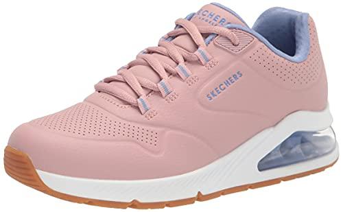 Skechers Women's UNO 2-2ND Best Sneaker, Mauve, 9