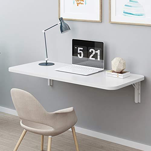 Mesa de cocina y comedor plegable montada en la pared, escritorio de oficina, escritorio para computadora (80 x 50)