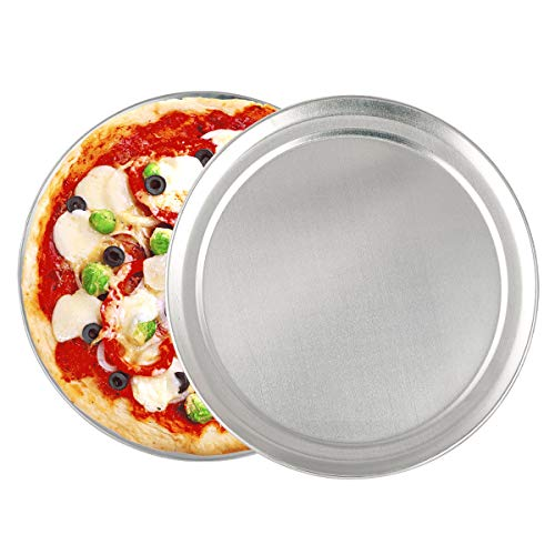2 Pack Pizza Baking Pan Pizza Tray