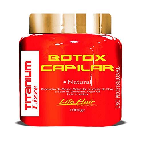 Botox Capilar Life Hair Titanium Liso Natural Sem Formol 1kg
