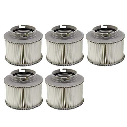 cherrypop 5 cartuchos de filtro de piscina colador para todos los modelos de bañera de hidromasaje piscina para MSPA FD2089 filtro de piscina