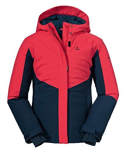 Schöffel Mädchen Ski Brandnertal Jacke, Hibiscus, 176