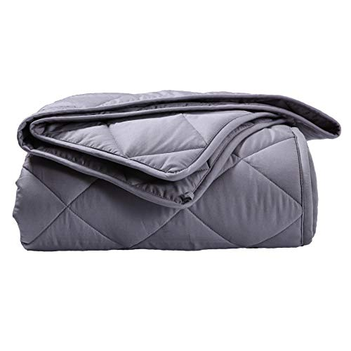 Best Price! GSLE Weighted Blanket, Premium Cotton Cozy Heavy Blanket – Say Goodbye to Restlessness, Usher in a Era of Peace and Fresh Sleep