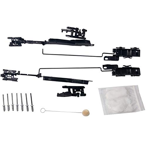 Sunroof Track Assembly Repair Kit - Compatible with Ford & Lincoln Vehicles - F150 2000-2014, Expedition 2000-2017, F250, F350, F450 Super Duty 2005-2016, Navigator, 2006-2008 Mark LT - Sun Roof