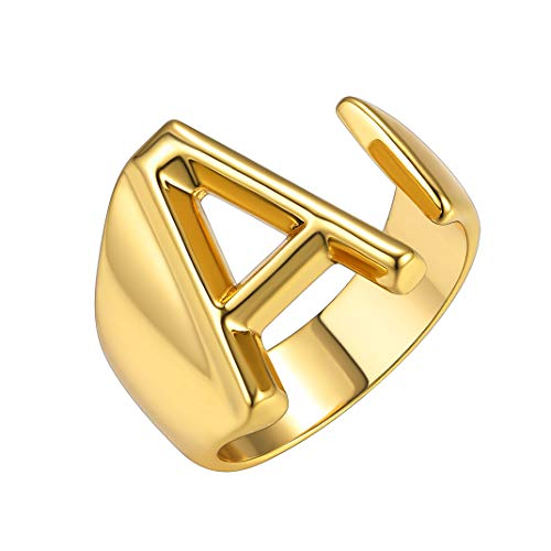 Our #3 Pick is the GoldChic Jewelry Personalized Initial Letter Adjustable Ring