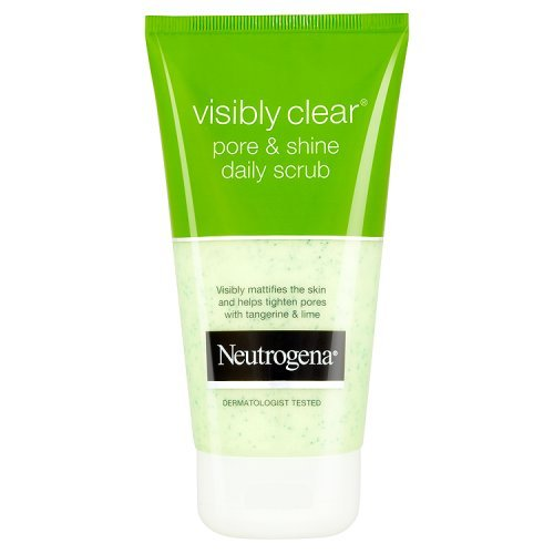 Neutrogena Visibly Clear Pore and Shine Daily Scrub, 150ml