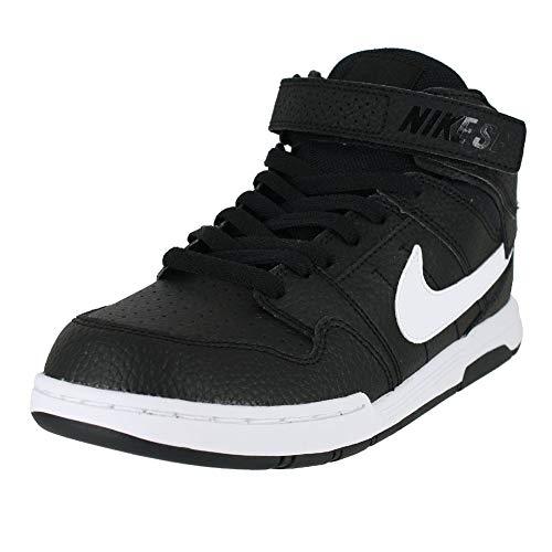 Nike Jungen Mogan Mid 2 Jr B Fitnessschuhe, Black/White, 31 EU