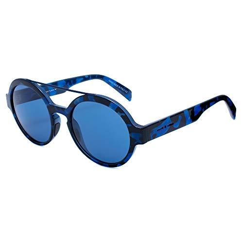 italia independent 0913-141-GLS Gafas de sol, Azul, 51 Unisex