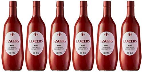 Lancers Rosé - Vino de Portugal - 6 Paquetes de 750 ml - Total: 4500 ml
