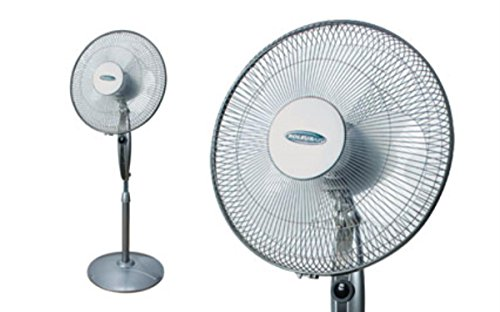 "Soleus Air 16"" Pedestal Oscillating Fan"