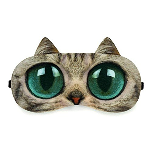 HXINFU Cartoon Travel 3d Eye Mask Sleep Anime Blinders For Sleeping Eye Covers
