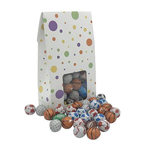 250g einzeln verpackt Schokolade Sportball süße Geschenk-Box
