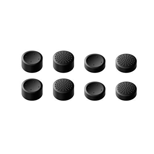 GameSir Xbox One Controller-Daumengriffe, Griffbefestigungen für analoge Sticks für Skins für Xbox One ™ / Slim ™ -Controller, Beste Caps für Gaming - Schwarz (8-Pack)