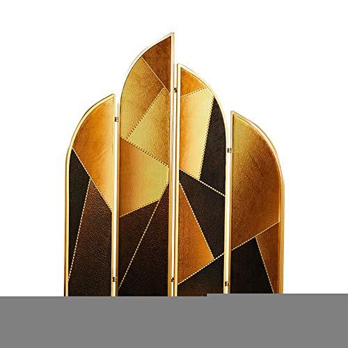 Even Trennwand-Paravent, unregelmäßiges Design, Metallgitter, Eisen, Raumteiler, Paravent-Wand, Sichtschutz