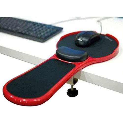 Apoio de braço para Descanso de Pulso para computador - Mesa e cadeira de Uso Duplo acoplável para casa e escritório Suporte para braço de computador - Tapete de Mouse projetado ergonomicame