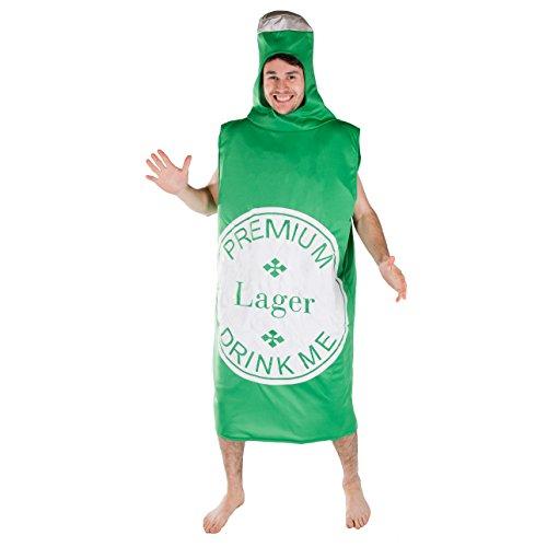 Bodysocks® Costume da Bottiglia di Birra per Adulti