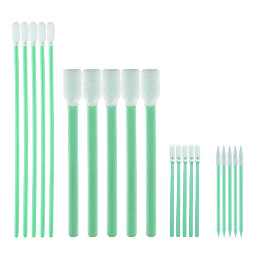 200pcs Cleaning Swabs, Multi-Purpose Cleanroom Foam Tip Cleaning Swab Kit for Camera, Optical Lens, Arts and Crafts, Painting, Gun, Printer, Automotive Detailing