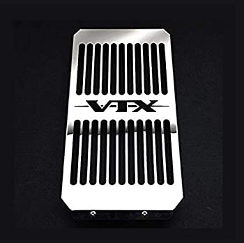 Chrome Radiator Cover Grill Grille Shrouds Cooler Protector Compatible for Honda VTX 1800 C/R/S/T VTX1800F/N