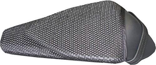 TRIBOSEAT Housse de siège Anti Slip Passenger conçue pour s'adapter à la Couleur Noire Compatible avec Aprilia Rsv4 (2009-2020)