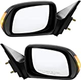 Kool Vue Power Mirror compatible with Scion TC 05-10 Right and Left Side Non-Folding Non-Heated W/Signal Light 5-Hole 5-Prong Connector Paintable