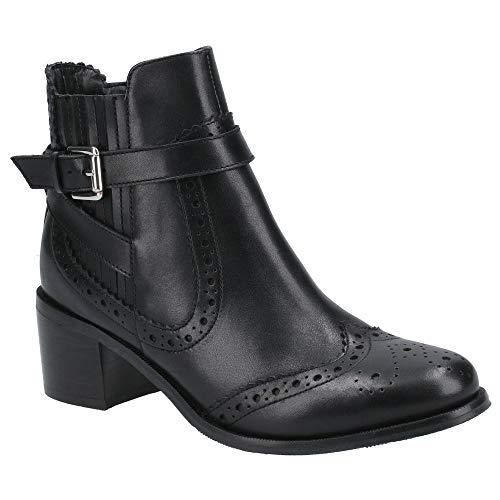 Hush Puppies Women's Rayleigh Fashion Boot, Black, 3 UK