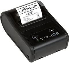 Epson C31CC79A9991 Series TM-P60II Wireless Receipt Printer Kit, MPOS, 802.11 B/G/N, 2, 4Ghz, A/N, 5Ghz, Battery, Belt Clip, USB Cable, Black