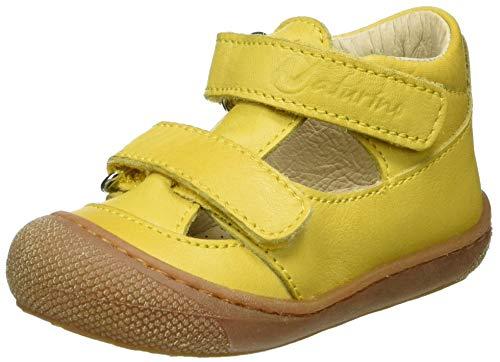 Naturino Unisex Baby Puffy Sandalen, Gelb (Giallo 0g04), 23 EU
