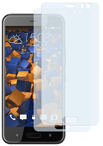 mumbi Schutzfolie kompatibel mit HTC U11 Life Folie klar, Bildschirmschutzfolie (2X)