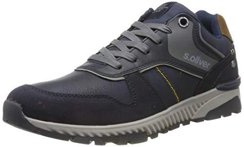 s.Oliver Herren 5-5-13618-23 Sneaker, Blau (Navy 805), 42 EU