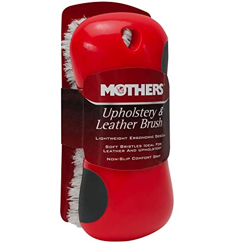 Mothers Soft Bristle Leather and Upholstery Cleaning Brush