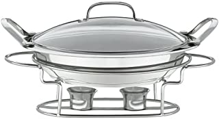 Cuisinart 7BSR-28 Stainless 11-Inch Round Buffet Servers, Silver