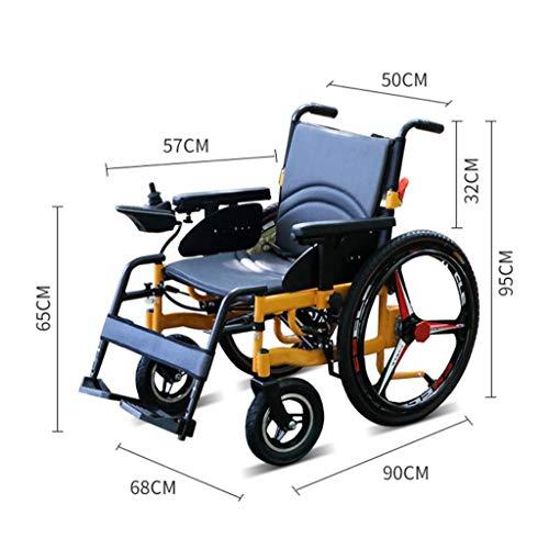 L-Y Alter Einfachheit Alter Einfachheit Rollstühle Klappbare Aluminiumlegierung Elektro Intelligente Alter Einfachheit Rollstuhl, Roller, Allrad Elektro, Klappbare Alter Einfachheit Rollstuhl
