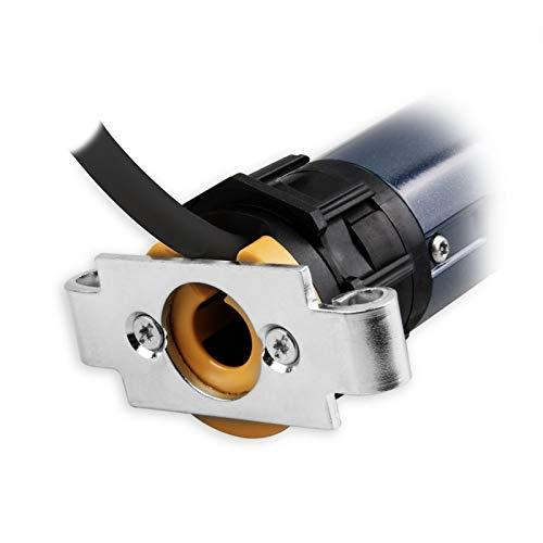 Somfy Mechanischer Mini-Rohrmotor/Rolladenmotor LS 40 13/10 | 13 Nm inkl. drei Hochschiebesicherungen (getestet von DIWARO), Motorlager. Anschlusskabel und SW 40 Adapter/Mitnehmer.