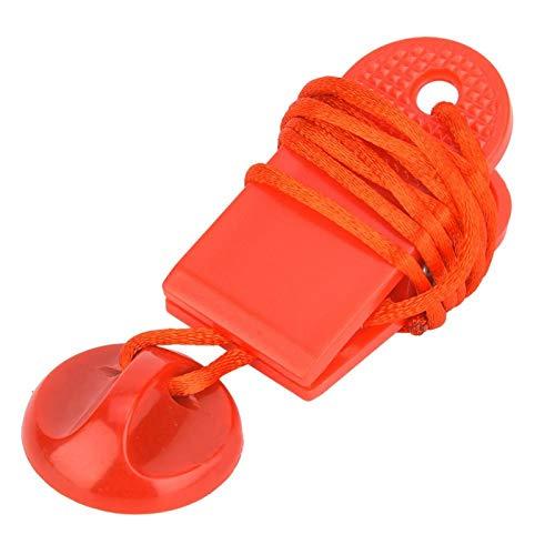 DAUERHAFT Laufbandschloss Laufmaschine Sicherheitsschalter Kunststoff + Nylon + Magnet, für Laufband, für Sport(Strong Magnetic Trumpet)