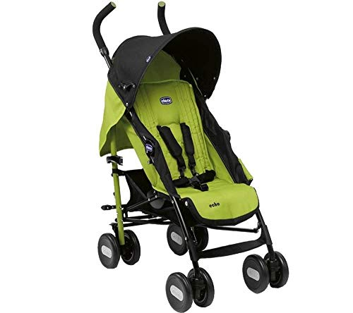 Chicco Echo Stroller- Jade, Black/Green