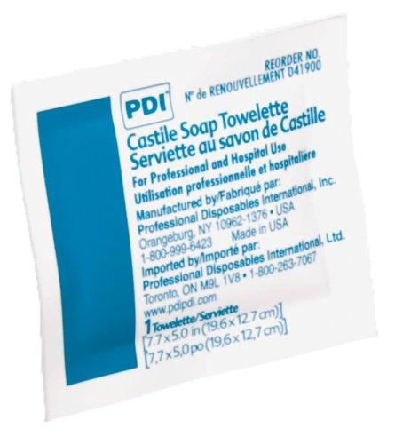 PDI Castile Soap Towelette 100/box