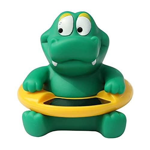 BASOYO Termómetro flotante de animales de dibujos animados, termómetros de temperatura del agua, resistente a los golpes, para piscinas al aire libre y interior, spas, jacuarios, estanques de peces