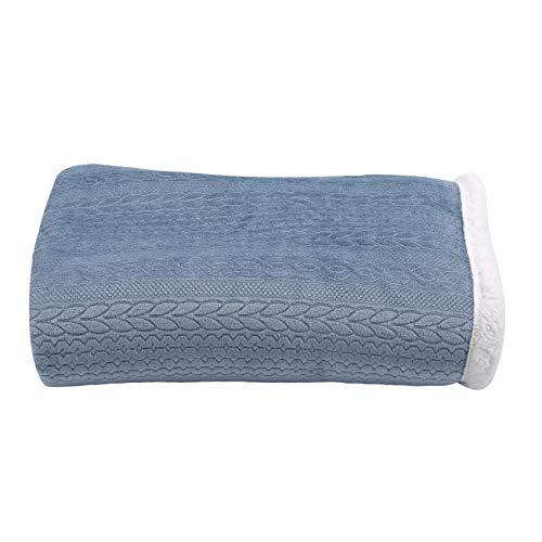 EMFGJ Manta de franela de forro polar, acogedora, suave, ligera, cálida, manta multiusos para sofá o oficina