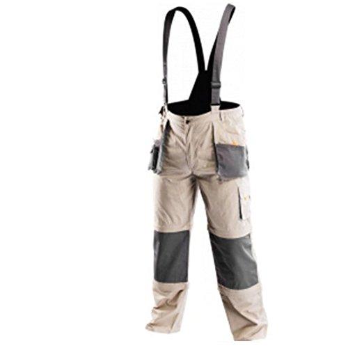 NEO TOOLS Arbeitslatzhose Profi 6 in 1 Latzhose Arbeitshose Arbeitskleidung Hose XXL