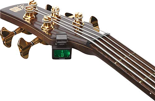 【国内正規品】IBANEZアイバニーズギター/ベース用チューナーTUNANO