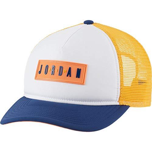 Nike Jordan CLC99 JM Air TRKR - Gorra, 16032_261079, Blanco y azul, talla única